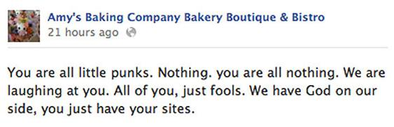 amy´s baking company