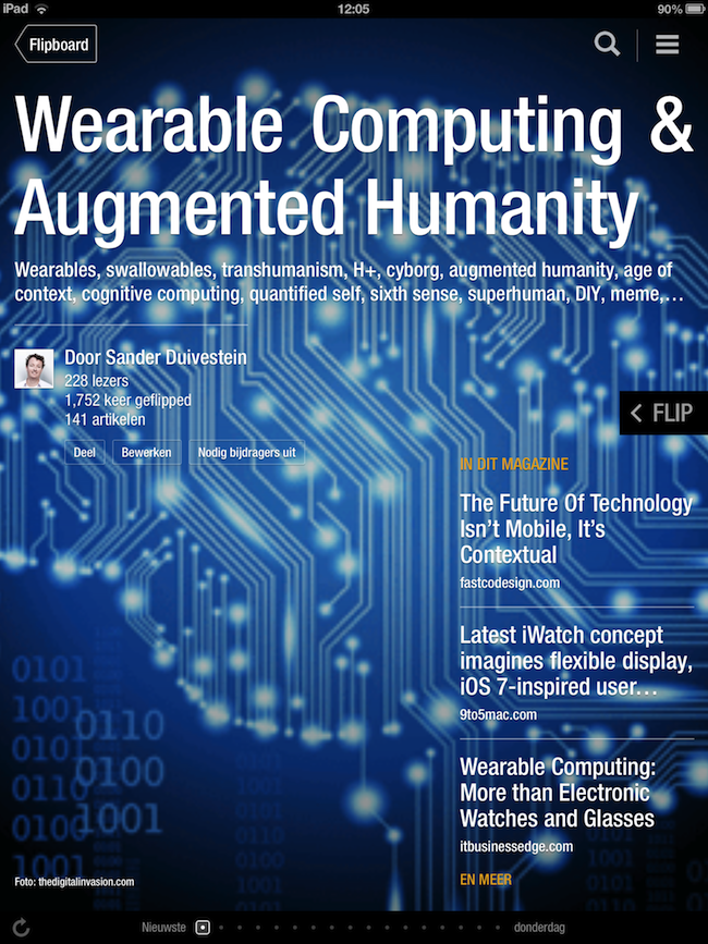 Augmented Humanity & Wearable Computing